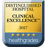 'Distinguished Hospital Clinical Excellence 2017